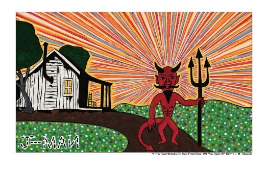 11 x 17 If The Devil Knocks Print